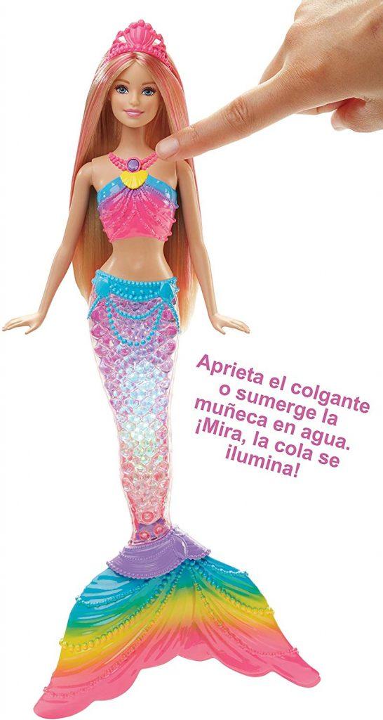 Muñecas de sirenas Barbie dreamtopia juguetes